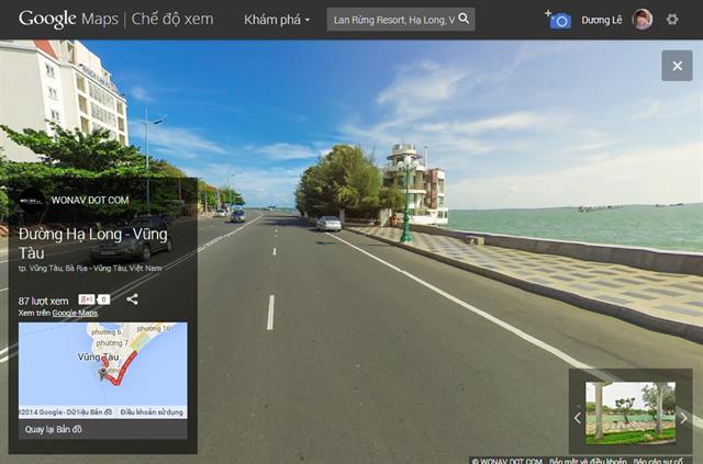 Trải nghiệm Google Street View tại Việt Nam