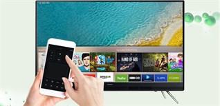 Cách dùng iPhone điều khiển tivi Samsung