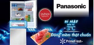 Công nghệ cấp đông mềm Prime Fresh+ trên tủ lạnh Panasonic 2018