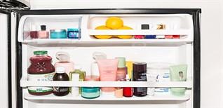 Có nên bảo quản kem dưỡng da, mặt nạ, nước hoa hồng, các loại mỹ phẩm trong tủ lạnh?