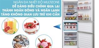 Cách sử dụng ngăn cấp đông mềm trên tủ lạnh Beko