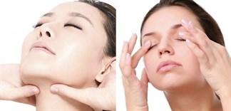 Các bước massage mặt đúng cách