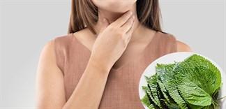 Điều trị viêm họng không cần dùng thuốc