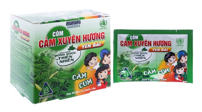 Cốm Cảm Xuyên Hương gói 2g hộp 20 gói