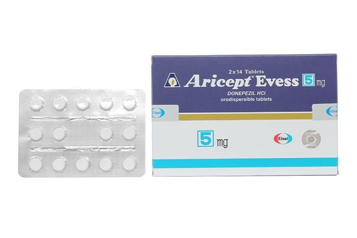 Thuốc Aricept Evess 5mg hộp 28 viên