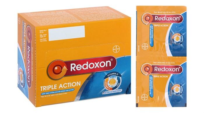 Viên sủi tăng sức đề kháng Redoxon Triple Action vỉ 2 viên
