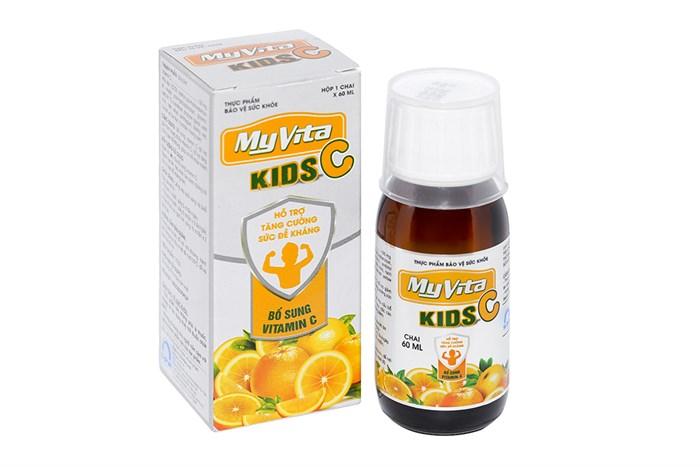Siro tăng sức đề kháng MyVita Kids C chai 60ml