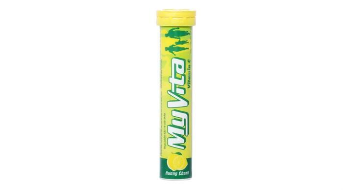 Viên sủi MyVita vitamin C vị Chanh tuýp 20 viên