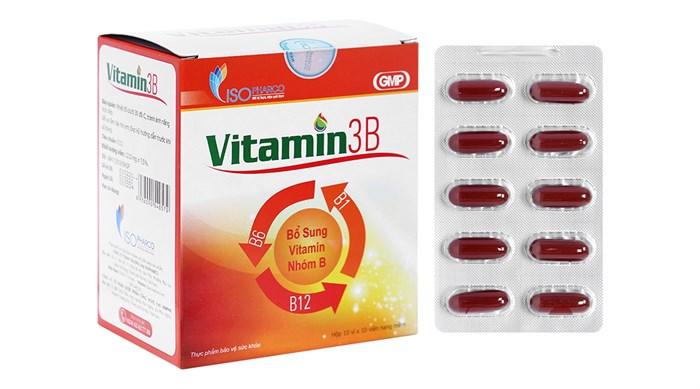 Viên uống Vitamin 3B ISO hộp 100 viên