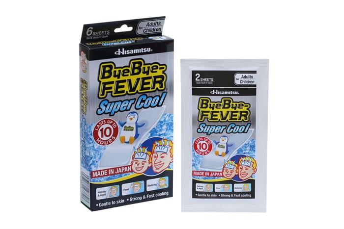 Miếng dán hạ nhiệt làm lạnh nhanh ByeBye Fever Super Cool 3 gói