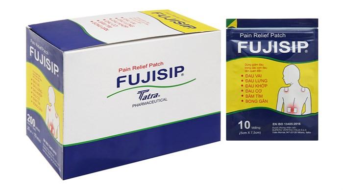 Miếng dán giảm đau Fujisip gói 10 miếng