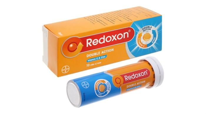 Viên sủi Redoxon Double Action tuýp 10 viên