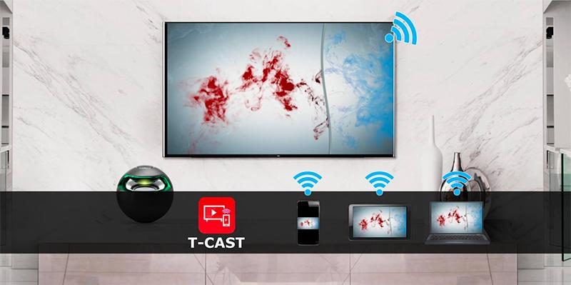 Smart Tivi TCL 4K 50 inch L50P6 – Điều khiển tivi bằng điện thoại