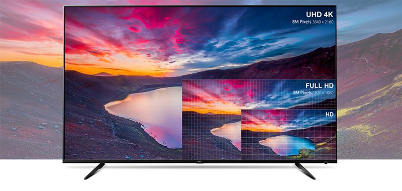 Smart Tivi TCL 4K 50 inch L50P6 – Hình ảnh cực nét