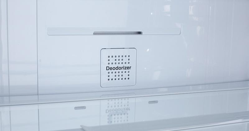 Tiêu diệt 99,99% vi khuẩn với bộ lọc Deodorizer