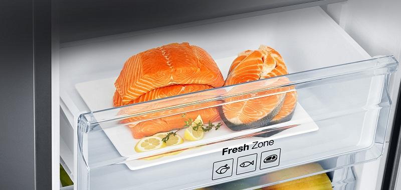 Ngăn Fresh Zone -1 độ C bảo quản thực phẩm hiệu quả
