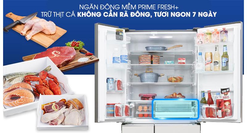 Cấp đông mềm - Tủ lạnh Panasonic Inverter 589 lít NR-F603GT-X2