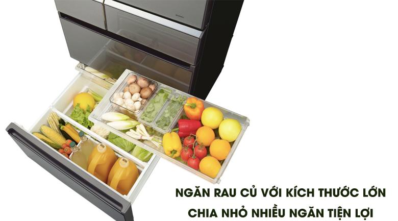Ngăn làm đông nhanh siêu cấp - Tủ lạnh Panasonic Inverter 589 lít NR-F603GT-X2