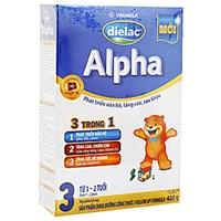 Sữa bột Dielac Alpha 3 400g (cho bé 1-2 tuổi)