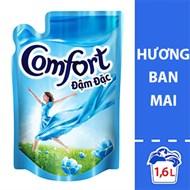 Nước xả Comfort đậm đặc hương Ban mai túi 1.6 lít