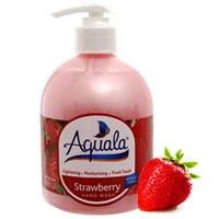 Sữa rửa tay Aquala Strawberry chai 500ml