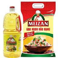 Combo gạo và dầu ăn Meizan