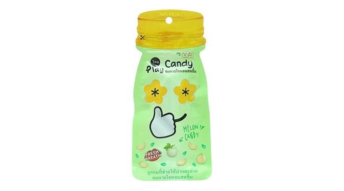 Keọ ngậm Play Candy Thái Lan vị Dưa gang 12g