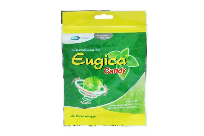 Kẹo ngậm thảo dược Eugica Candy túi 15 viên