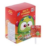 Dr Frei kẹo mút vị cam Multivitamins & Minerals