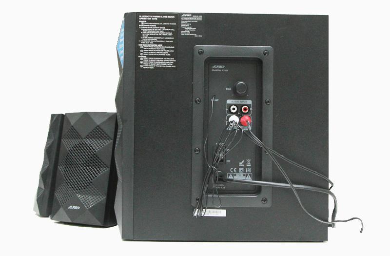 Loa Vi Tính Fenda A180X - Cách gắn dây trên loa