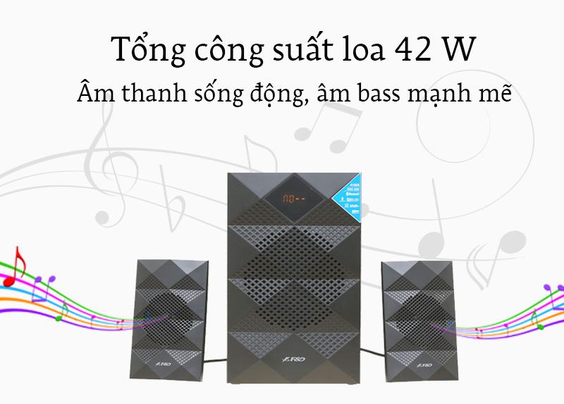 Loa Vi Tính Fenda A180X - Âm thanh sống động, trải nghiệm âm nhạc hoàn hảo