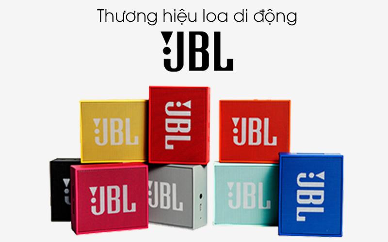 Loa Bluetooth JBL GO - Thương hiệu loa di động JBL uy tín