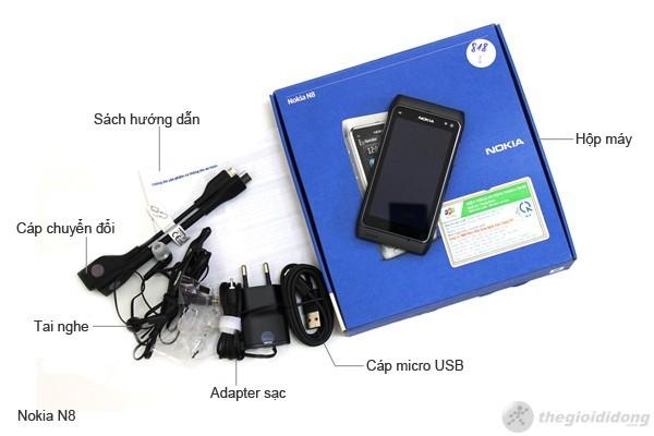 Phụ kiện theo máy của Nokia N8