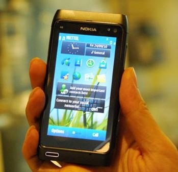 Điện thoại Nokia N8 sử dụng hệ điều hành Symbian