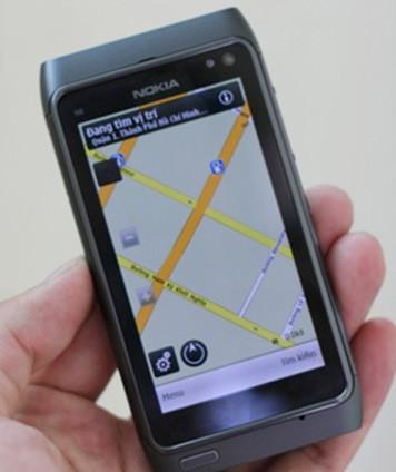 Nokia N8 - Ovi Maps