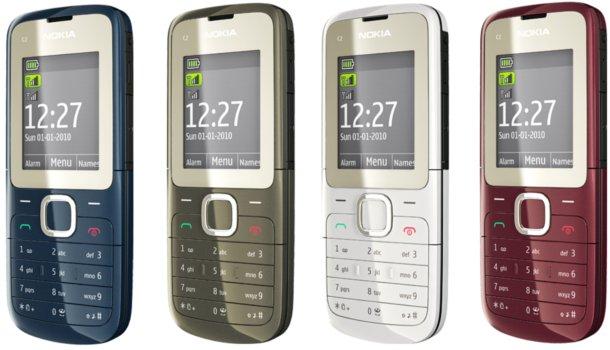 Điện thoại Nokia C2 - 00