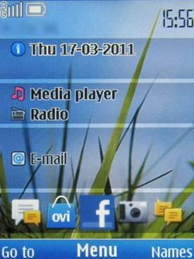 Nokia C2-01 sở hữu giao diện S40