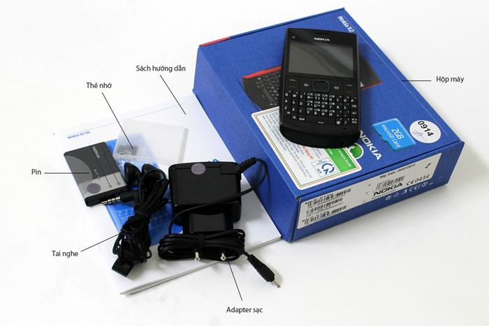 Bộ bán hàng chuẩn của Nokia X2-01