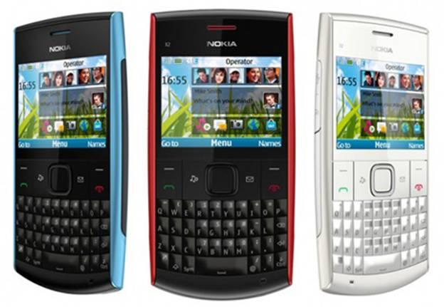 Nokia X2-01 có thiết kế chắc chắn