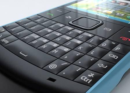 Bàn phím Qwerty của Nokia X2-01