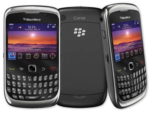 BlackBerry Curve 9300 sở hữu thiết kế mạnh mẽ, sang trọng