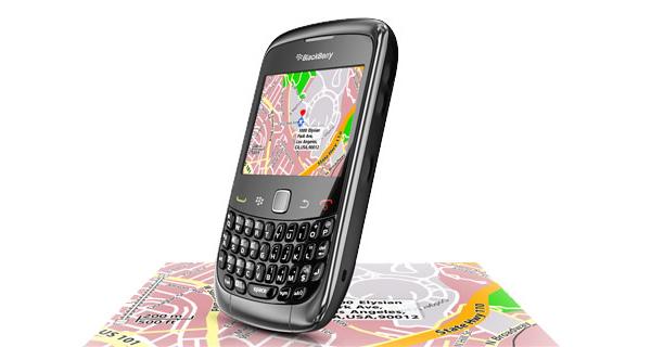 Không lo bị lạc đường với Blackberry map