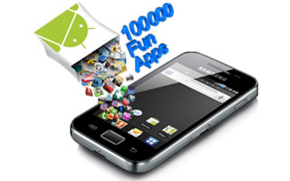 Samsung Galaxy Ace S5830 - 100000 Fun Apps