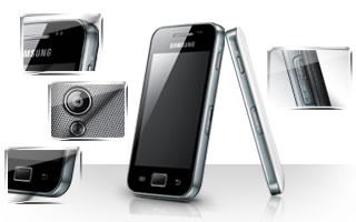 Thiết kế thời trang  của Samsung Galaxy Ace S5830