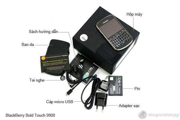Bộ bán hàng Blackberry Bold Touch 9900