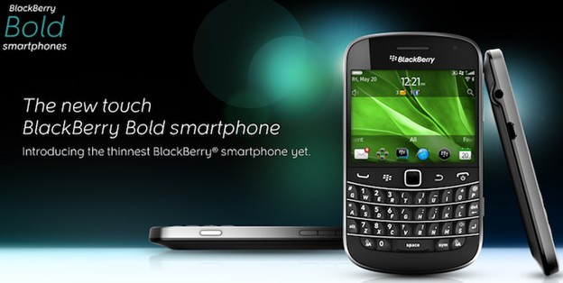 BlackBerry Bold Touch 9900 - trải nghiệm