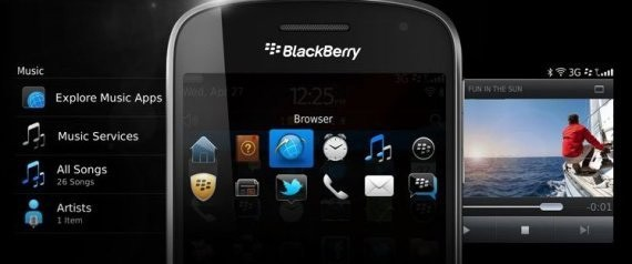 Ứng dụng BlackBerry Bold Touch 9900
