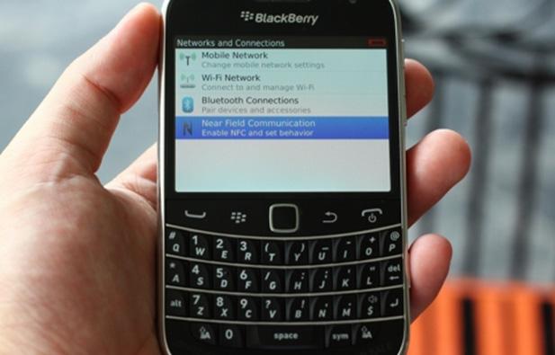 NFC BlackBerry Bold Touch 9900