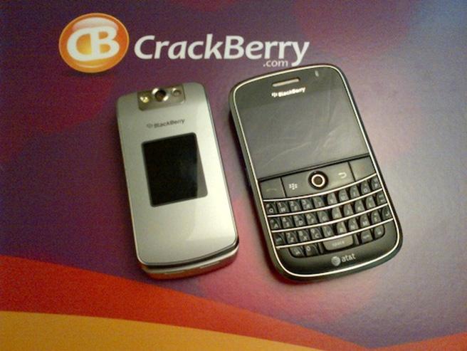 Ảnh chụp từ BlackBerry Bold Touch 9900