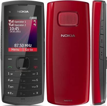 Nokia X1-01 có lớp vỏ nhựa bóng bẩy
